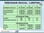 previson social limites59
