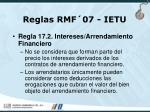 reglas rmf 07 ietu74