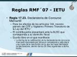 reglas rmf 07 ietu98