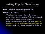 writing popular summaries13
