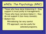 einds the psychology mnc
