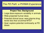 the pd path a phrma experience39
