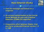 how ethernet works