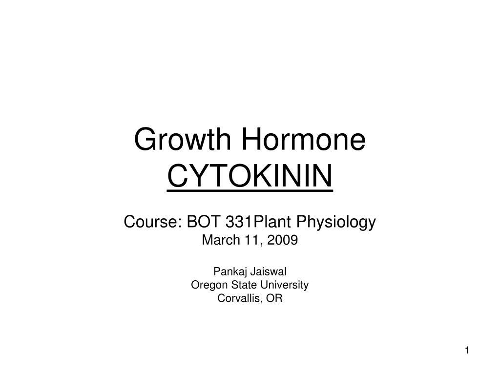 growth hormone cytokinin l.