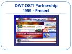 dwt osti partnership 1999 present