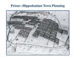 priene hippodamian town planning