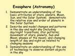 exosphere astronomy
