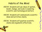habits of the mind33