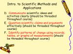 intro to scientific methods and applications48