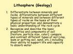 lithosphere geology