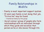 family relationships in midlife