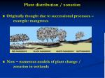 plant distribution zonation