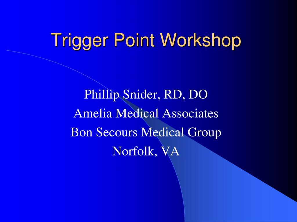trigger point workshop l.