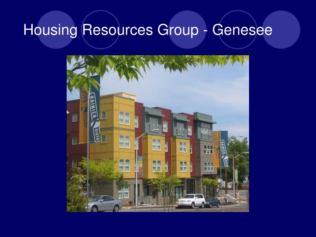 Housing Resources Group - Genesee
