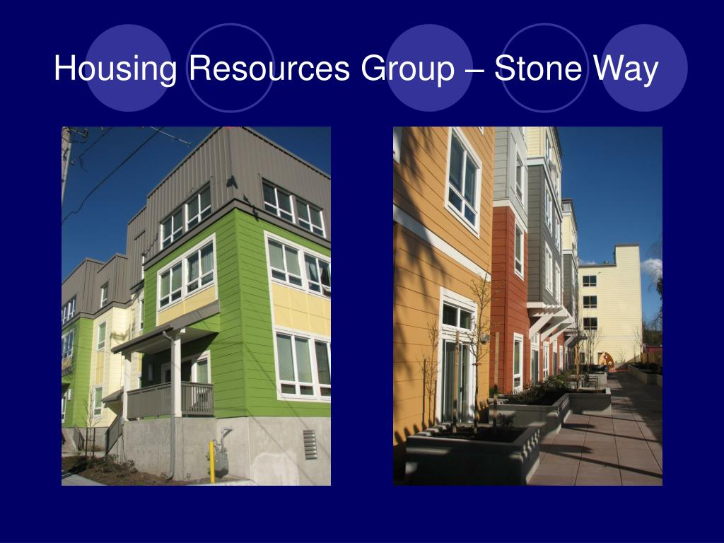 Housing Resources Group – Stone Way