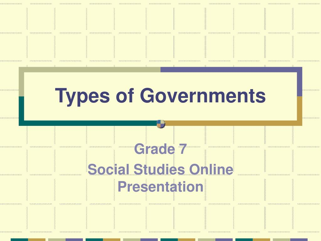 types of governments l.