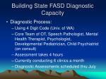 building state fasd diagnostic capacity15