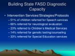 building state fasd diagnostic capacity24