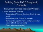 building state fasd diagnostic capacity26