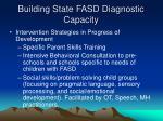 building state fasd diagnostic capacity27