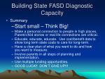 building state fasd diagnostic capacity29
