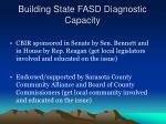 building state fasd diagnostic capacity6
