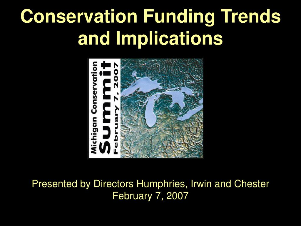 conservation funding trends and implications l.