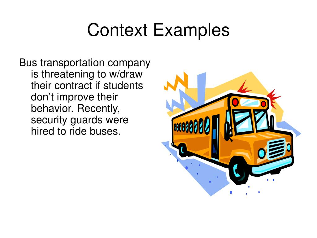 Context Examples