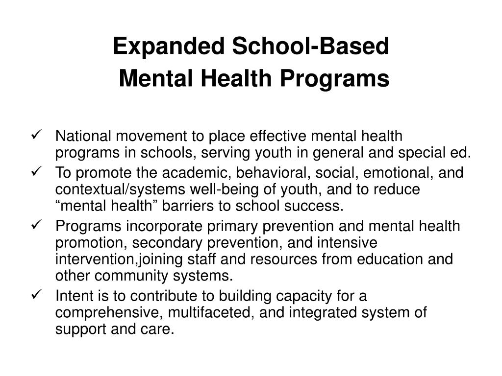 Expanded School-Based