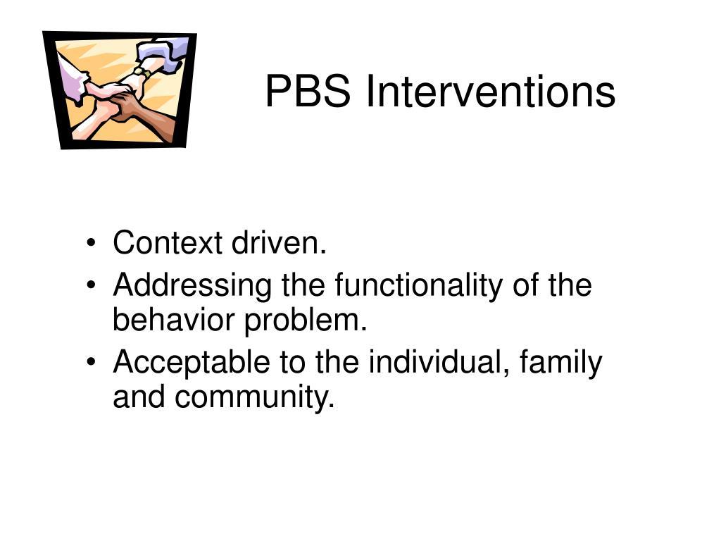 PBS Interventions