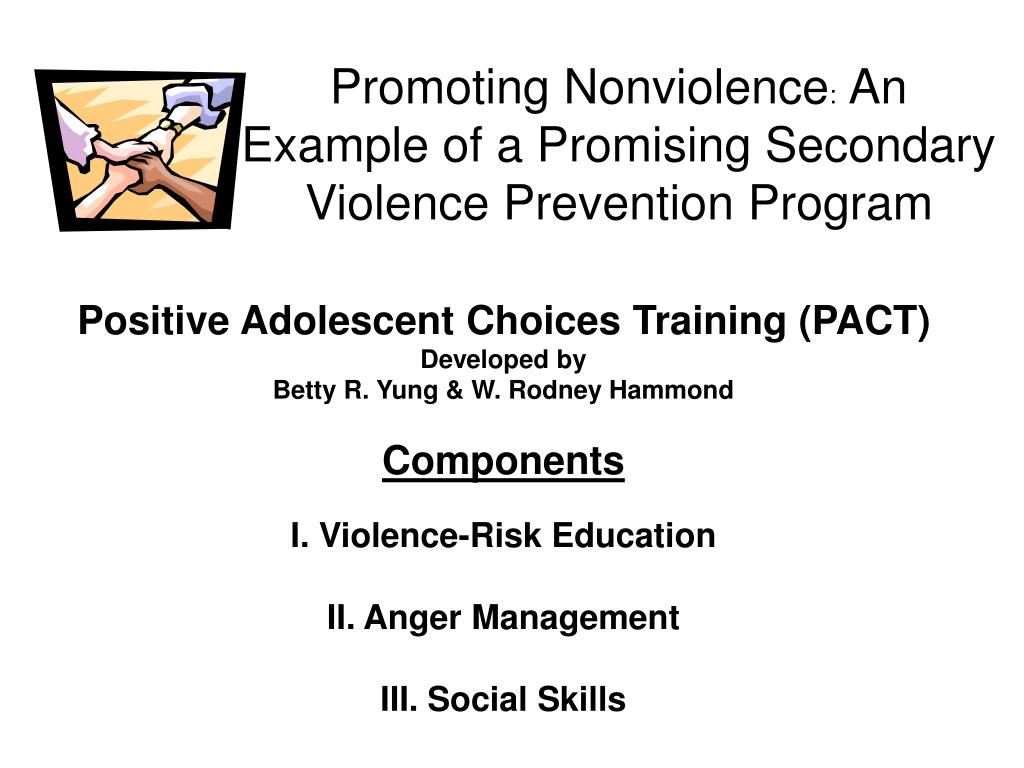 Promoting Nonviolence