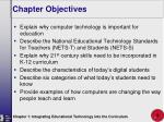 chapter objectives3