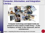 computer information and integration literacy6