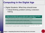 computing in the digital age27