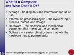 what is a computer and what does it do9