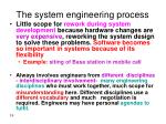 the system engineering process19