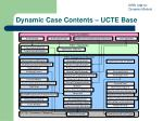 dynamic case contents ucte base