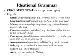 ideational grammar10