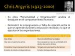 chris argyris 1923 2000