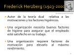 frederick herzberg 1923 2000