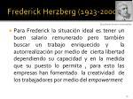 frederick herzberg 1923 200015