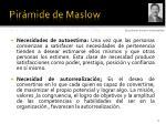 pir mide de maslow11