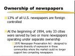 ownership of newspapers1