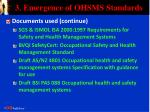 3 emergence of ohsms standards13