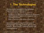 1 the technologies