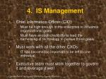 4 is management