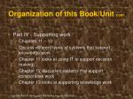 organization of this book unit cont60