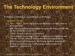 the technology environment