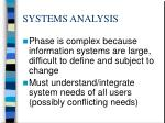 systems analysis16