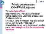 prinsip pelaksanaan kkn ppm lanjutan